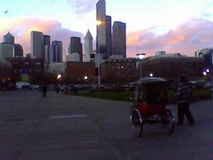 pedicabsunset